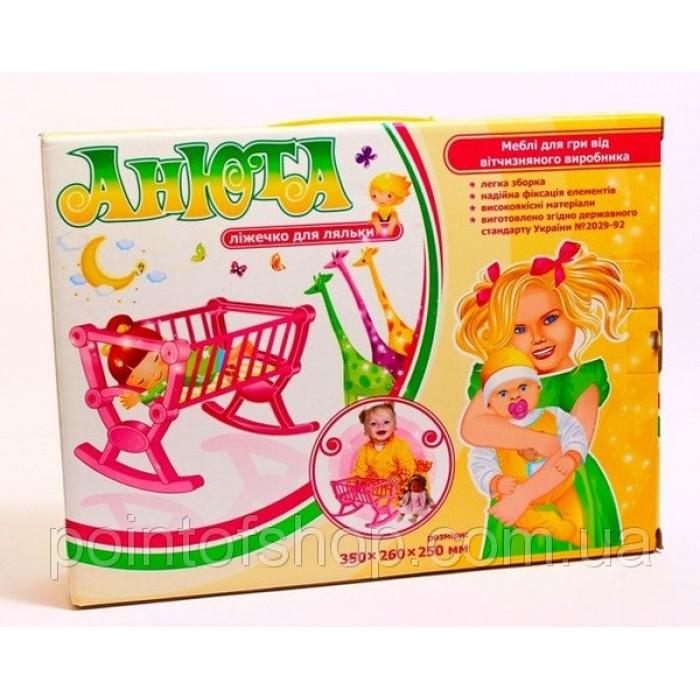 Кровать «Анюта» для кукол