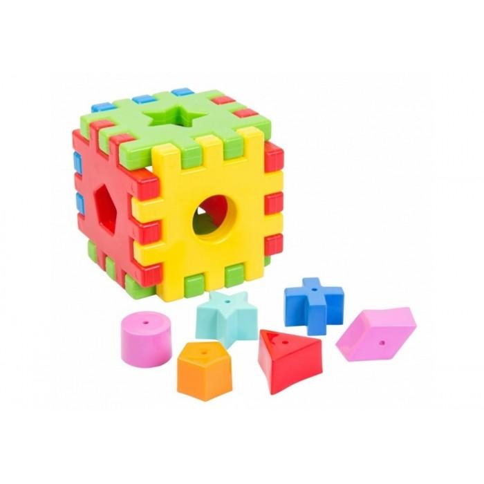 Игрушка развивающая «Чарівний куб» 12 элементов
