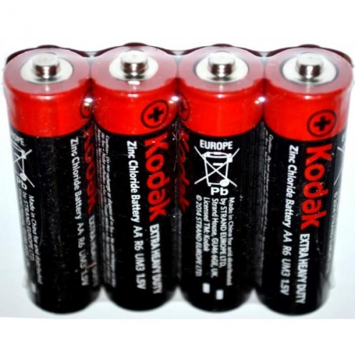 Батарейка KODAK R6, АА, солевая, ЦЕНА ЗА УП. 60ШТ