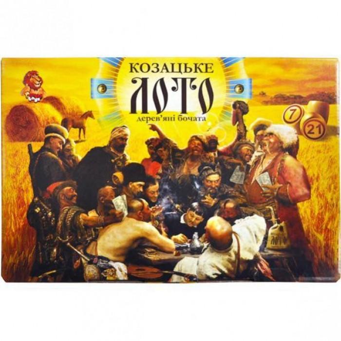 Игра настольная «Лото Козацкое»