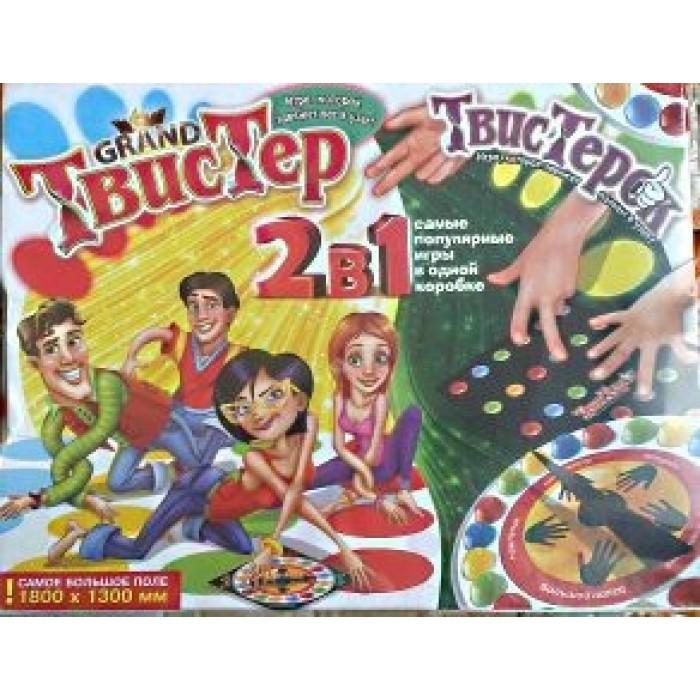 Игра напольная  2 в 1 «Гранд Твистер + Твистерок»