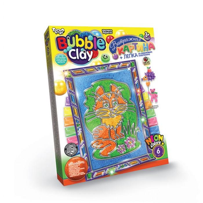 Витражная картина «Bubble Clay» Лиса