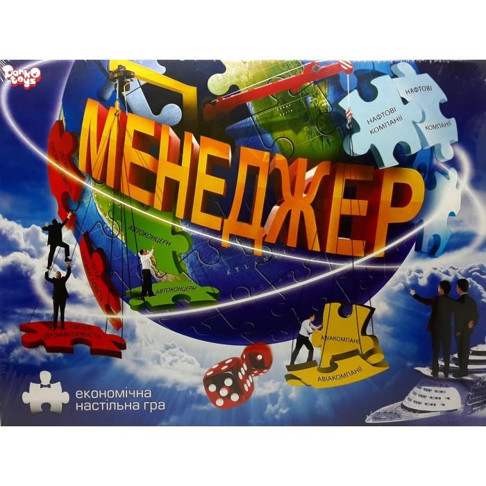 Игра настольная «Менеджер» укр
