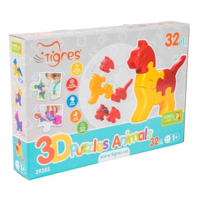 Игрушка развивающая: 3D пазли «Тваринки» 32 лемента