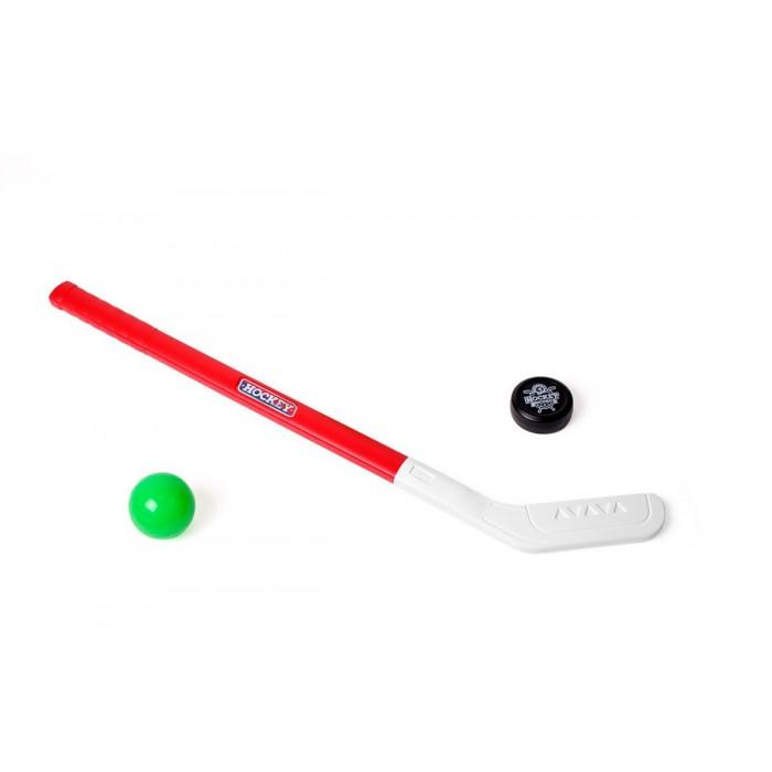 Набор для игры в хоккей, клюшка, шайба (d-6см), шарик