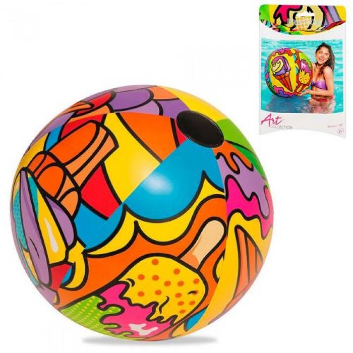 Мяч надувной «Поп арт»