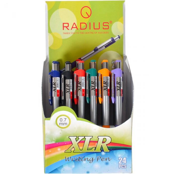 Ручка XLR шариковая, автомат, синяя, ЦЕНА ЗА УП. 24ШТ