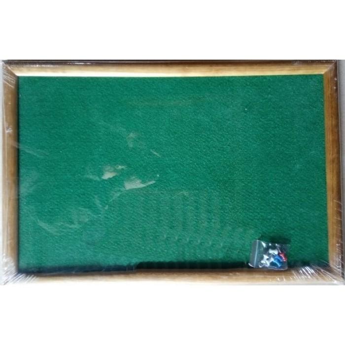 Доска волокнистая зеленая