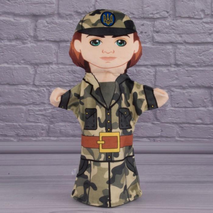 Кукла-рукавичка «Военный»,для кукольного театра, 30см