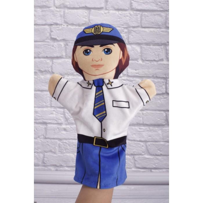 Кукла-рукавичка «Пилот», высотой 30см