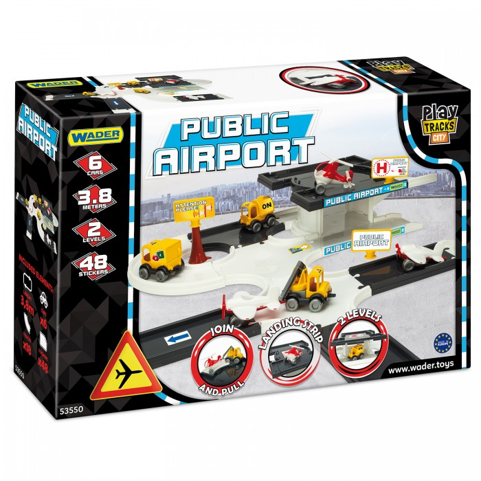 Набор аэропорт Play Tracks City