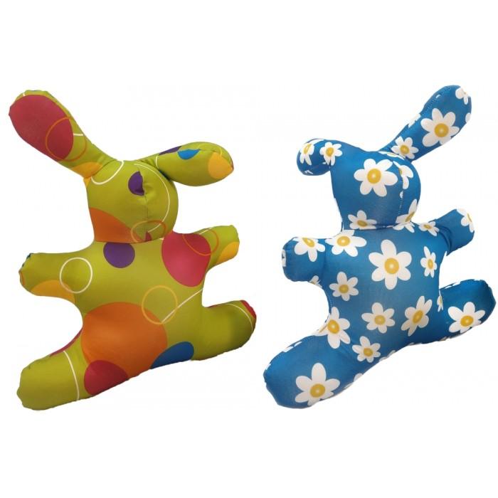 Мягкая игрушка антистресс Заяц «Принты», 34см