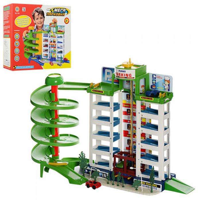 Гараж, 6 этажей, 4 машинки