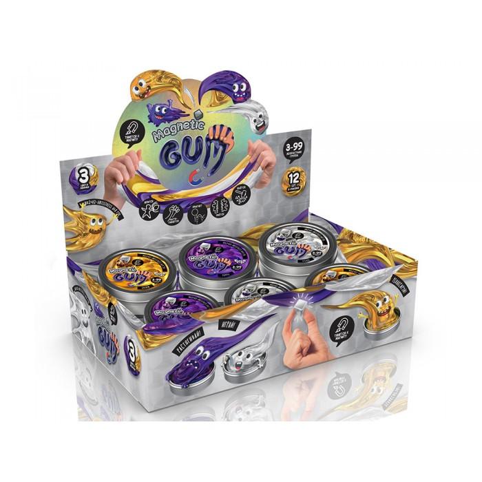 Жвачка для рук Magnetic Gum, золото, рус.