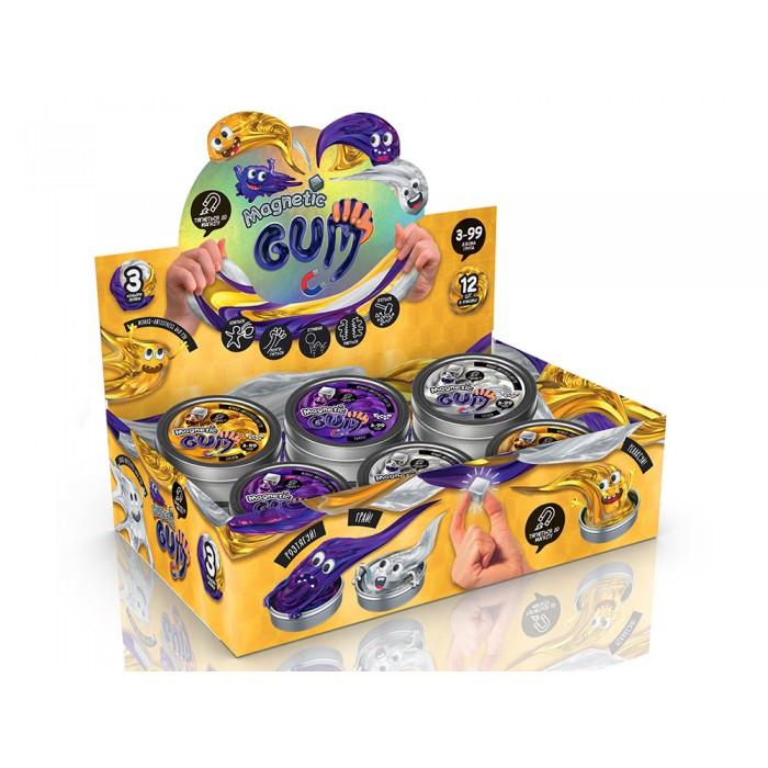 Жвачка для рук Magnetic Gum, фиолетовый, укр.
