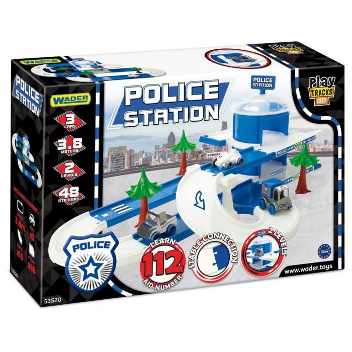 Автомобильный трек набор полиция Play Tracks City