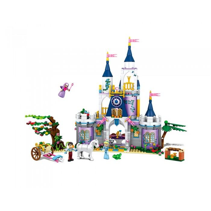 Конструктор JVToy Дворец для Золушки Принцессы, 667деталей