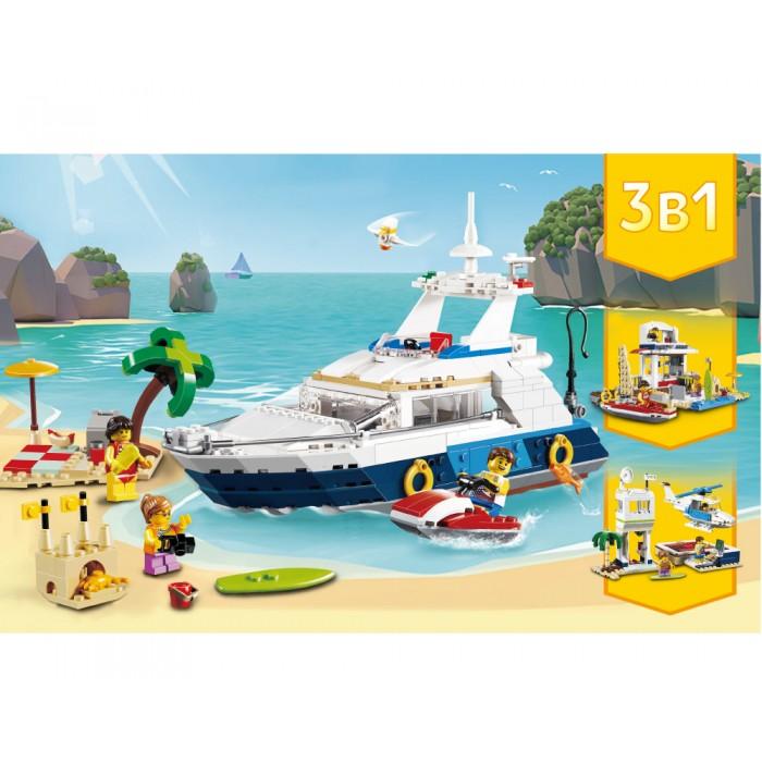 Конструктор JVToy Пляжный отдых Чудесный город, 669 деталей