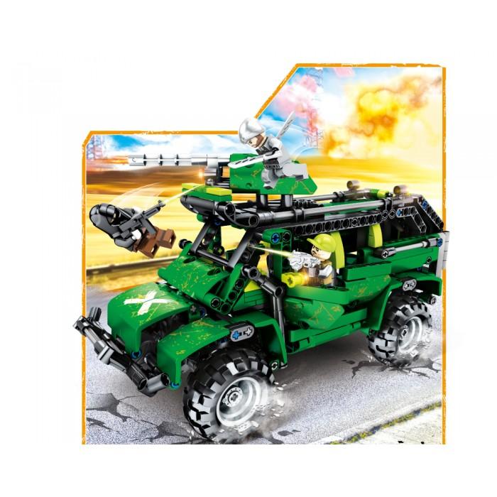 Конструктор JVToy Вооруженное противостояние, 530 деталей