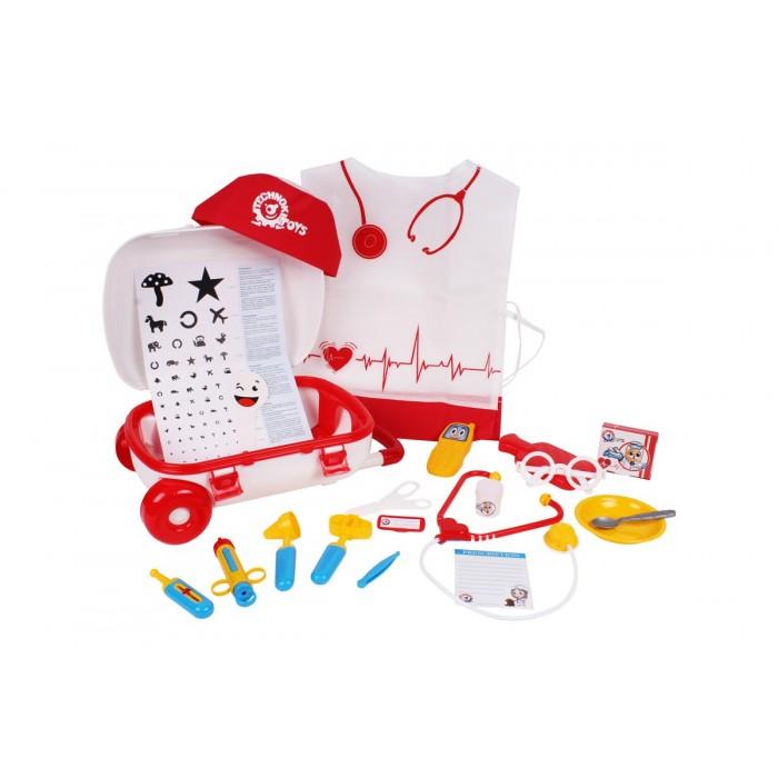 Набор «Маленький доктор», 21 предмет, чемодан