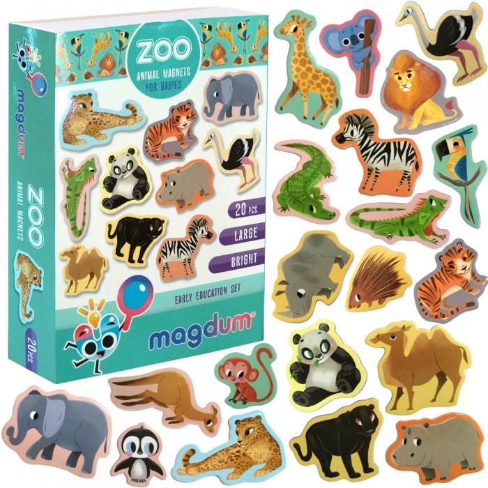 Набор магнитов Magdum «Зоо» рисунки 20 магнитов