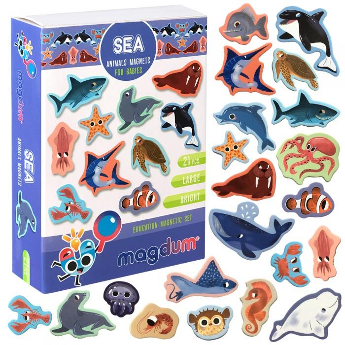 Набор магнитов Magdum «Морские животные» 21 магнит