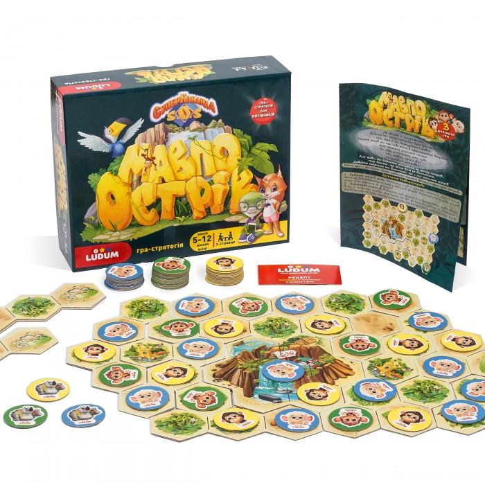 Игра-стратегия «Суперкоманда SOS-Остров обезьян» Ludum укр.