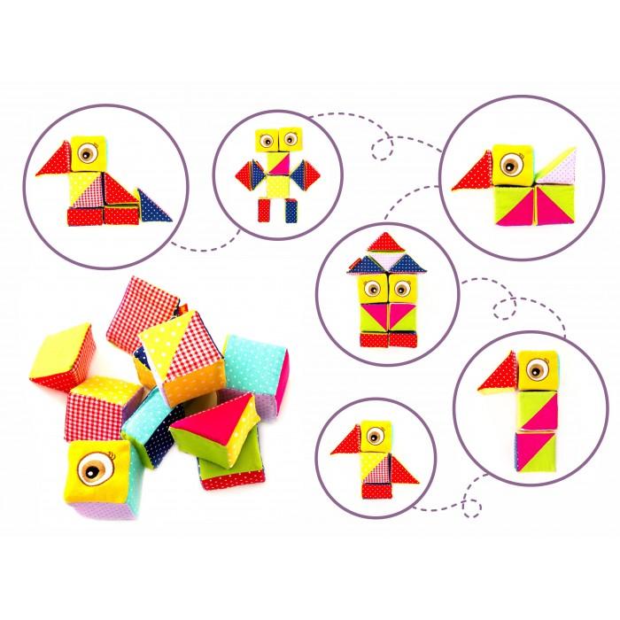 Набор мягких кубиков Конструктор «Совушка»