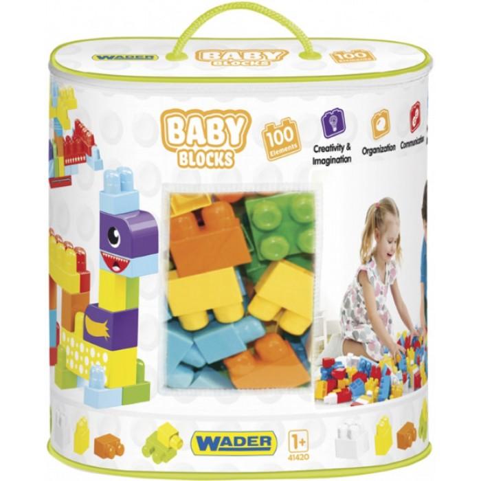 Конструктор Baby Blocks Мои первые кубики, 100шт