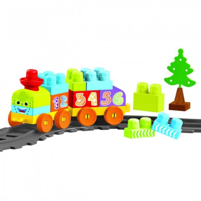 Конструктор Baby Blocks Мои первые кубики Железная дорога 1,