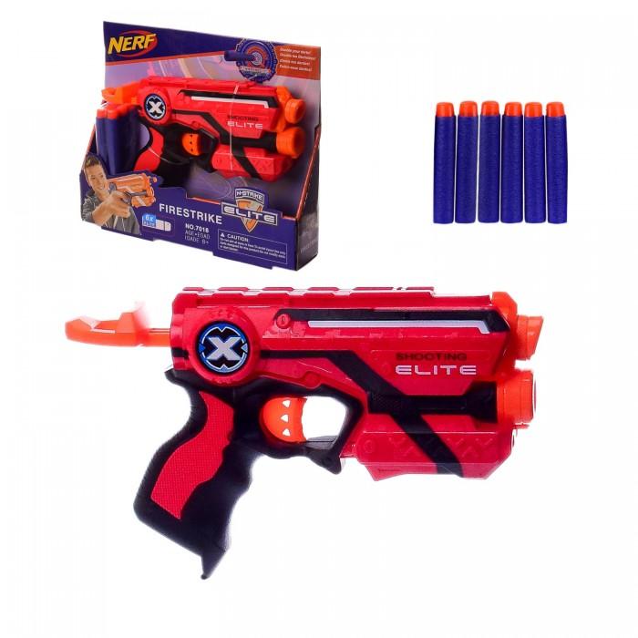 Бластер Nerf с поролоновыми снарядами