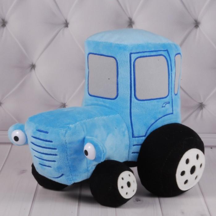 Игрушка мягкая «Машина» Синий трактор, 25*20см