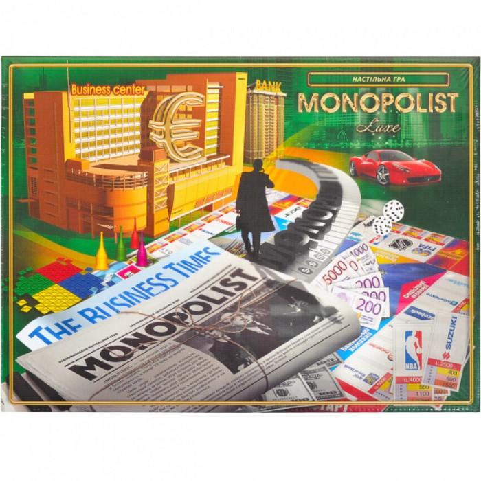 Игра настольная «Monopolist», на украинском языке