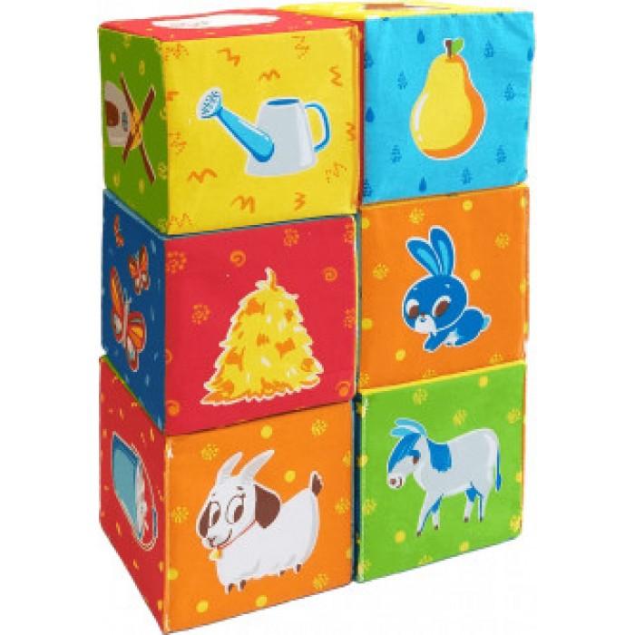 Набор мягких кубиков «Животные на ферме»
