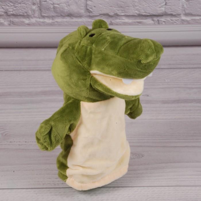 Кукла-рукавичка «Крокодил»,для кукольного театра, 17см