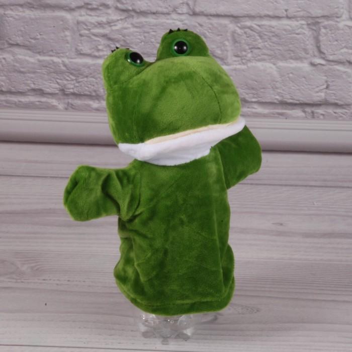 Кукла-рукавичка «Жаба», для кукольного театра,17см