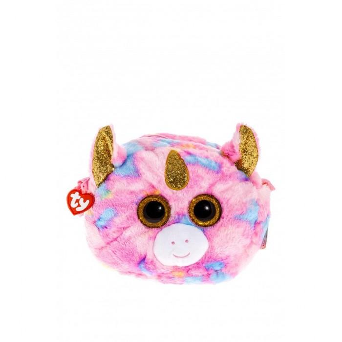 Мягкая игрушка сумочка TY Gear Единорог «Fantasia» 18см