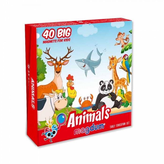 Набор магнитов Magdum «Животные» 40 магнитов