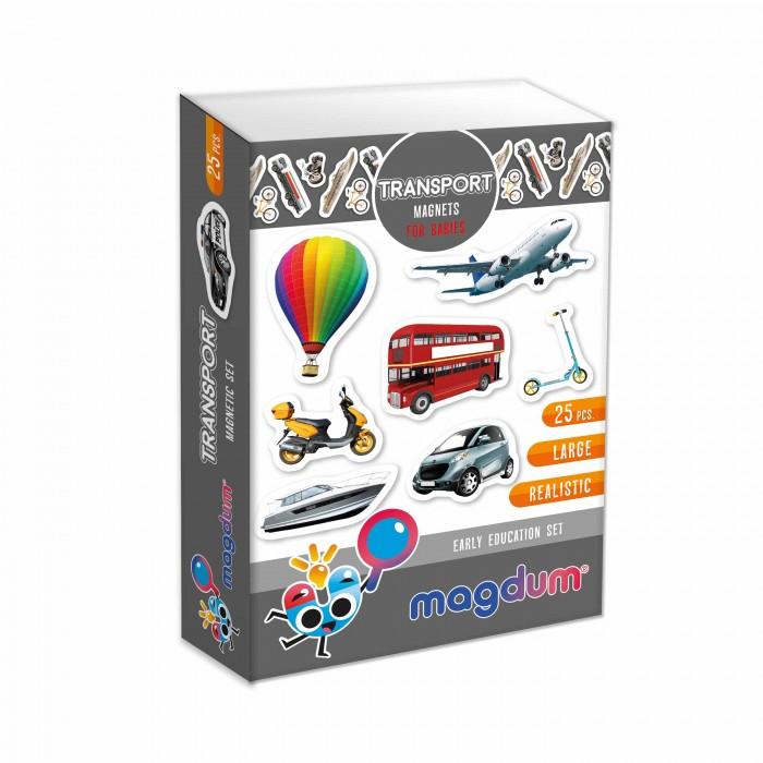 Набор магнитов Magdum «Транспорт», 25 магнитов
