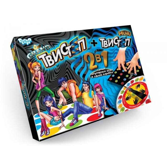 Игра напольная «Гранд Твистеп»+игра настольная  МИНИ ТВИСТЕП
