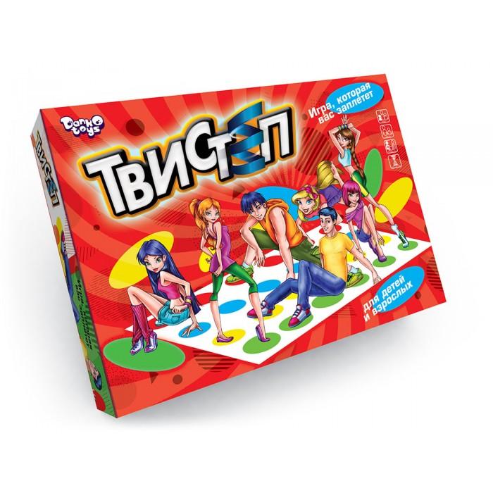 Игра «Твистеп», развивающая координацию,  русская