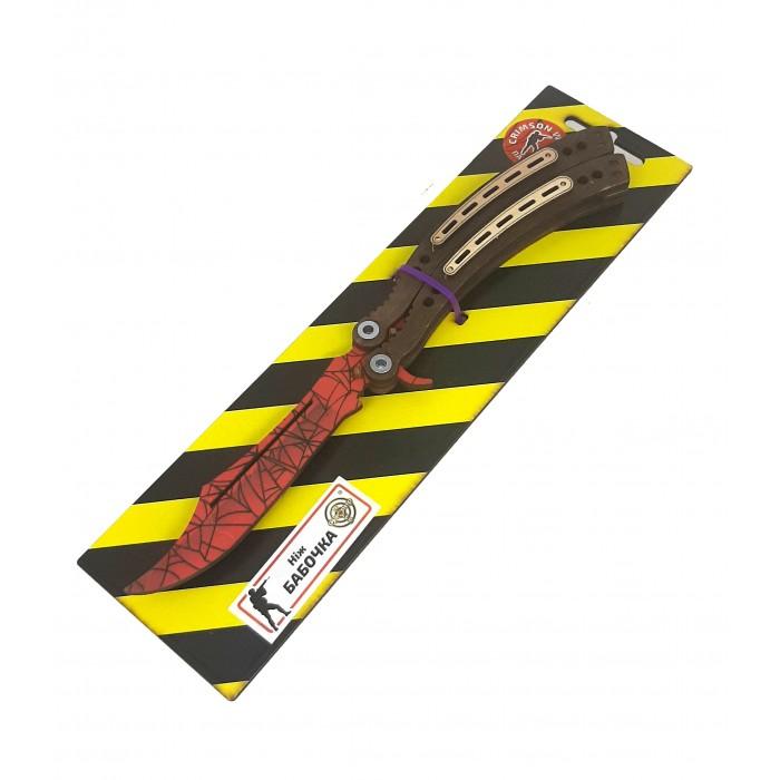 Нож деревянный «Бабочка» Паутина