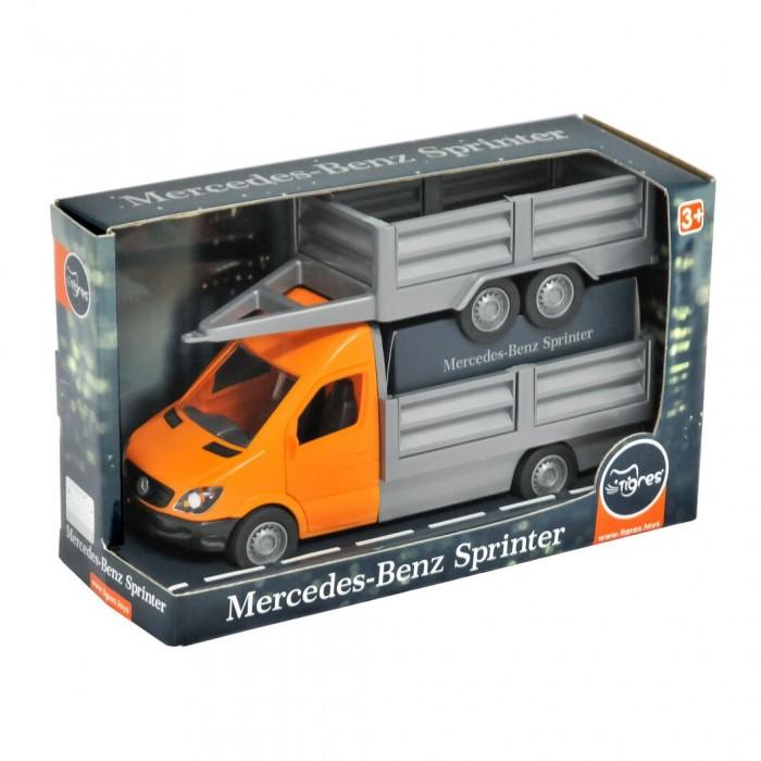Автомобиль «Mercedes-Benz Sprinter», с бортовым прицепом