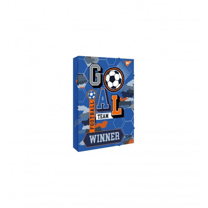 Папка для труда  А4 YES, картонная «Football»