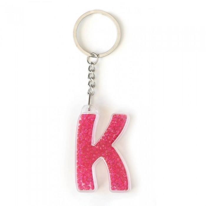 Брелок YES буква «К», красная
