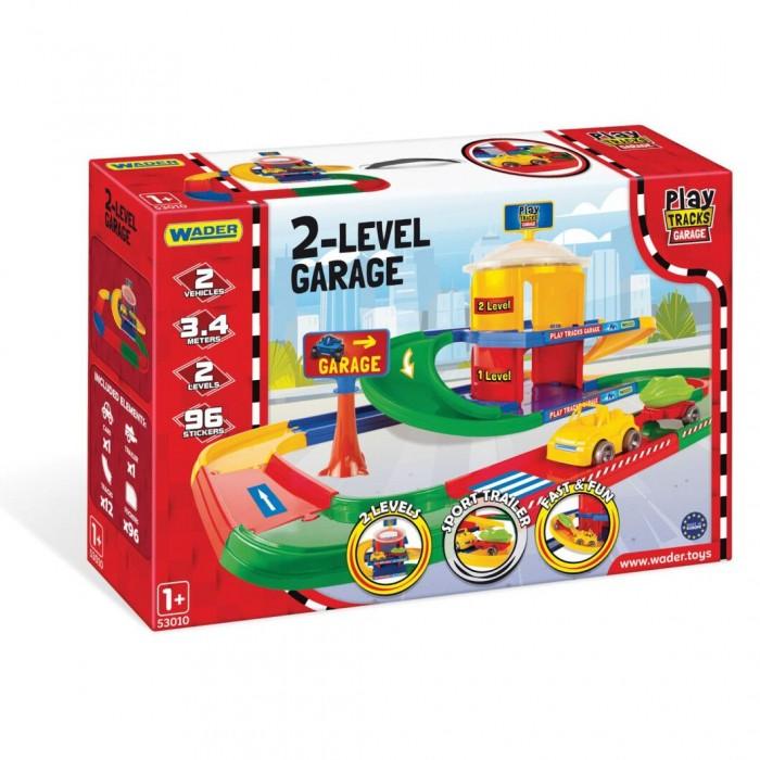 Гараж, 2 уровня, Play Tracks Garage