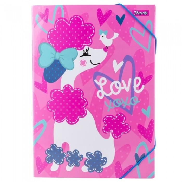 Папка для труда картонная А4 «Love XOXO»