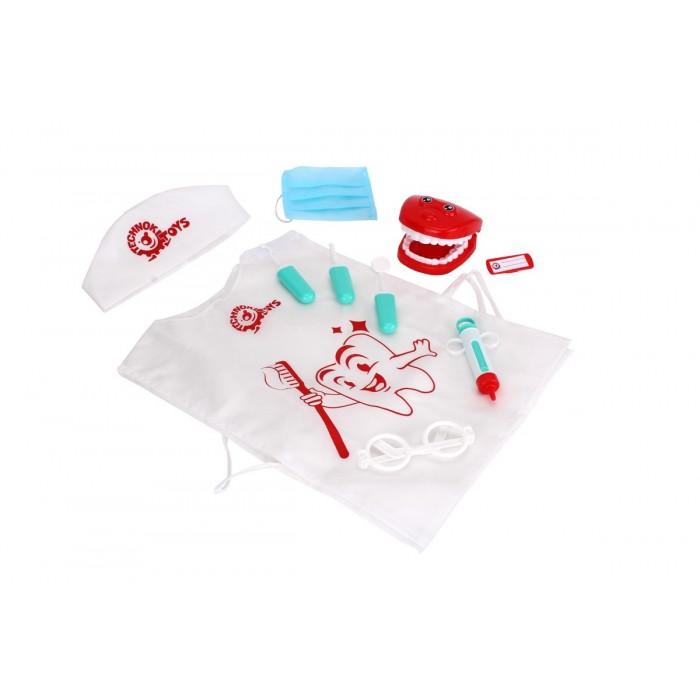 Игровой набор стоматолога, 10 предметов