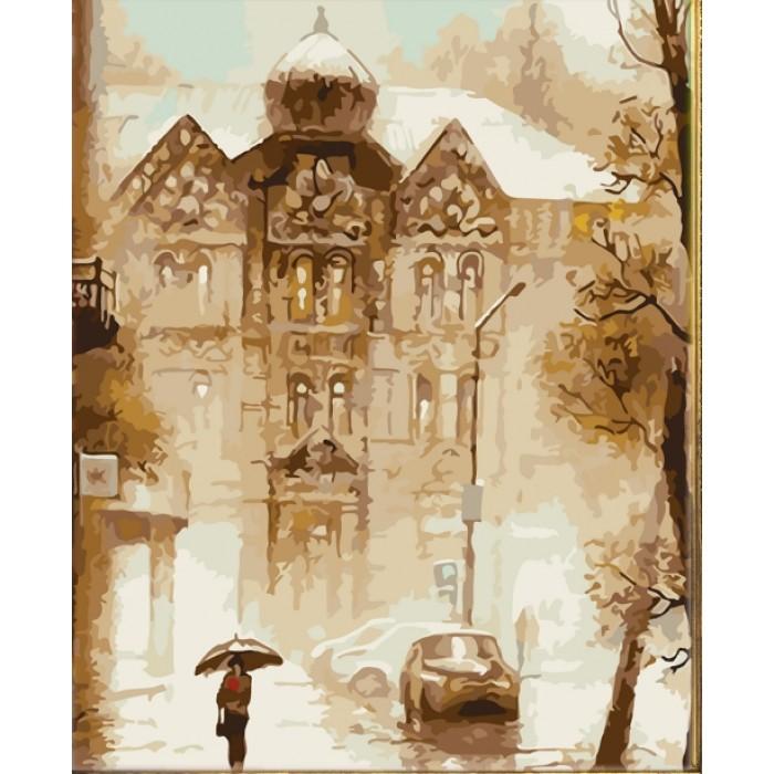 Картина по номерам  «Поздняя осень» 40*50см, в коробке