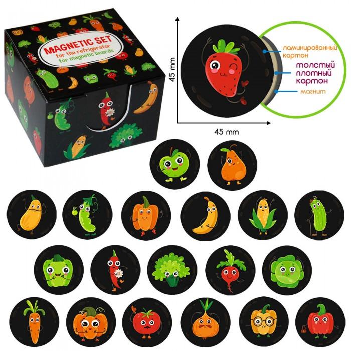 Набор магнитов «Funny fruits and vegetables» Magdum